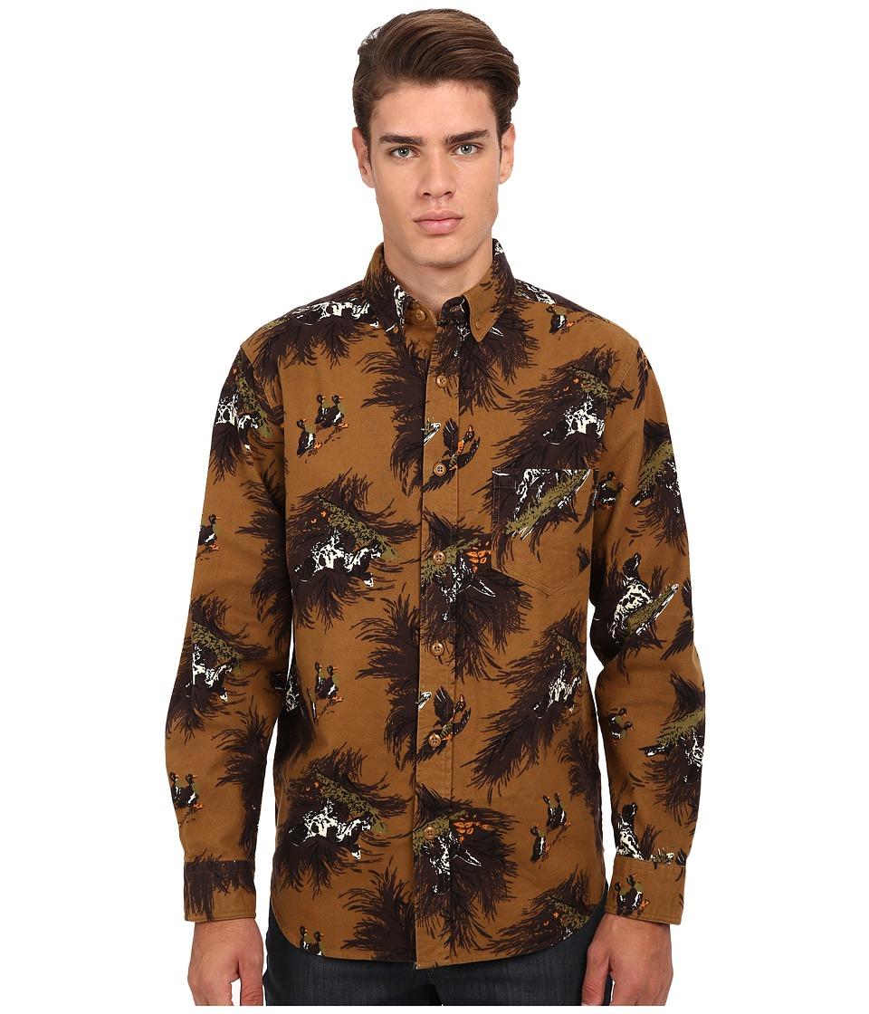 Woolrich - Tiadaghton Printed Shirt (Chicory) Men