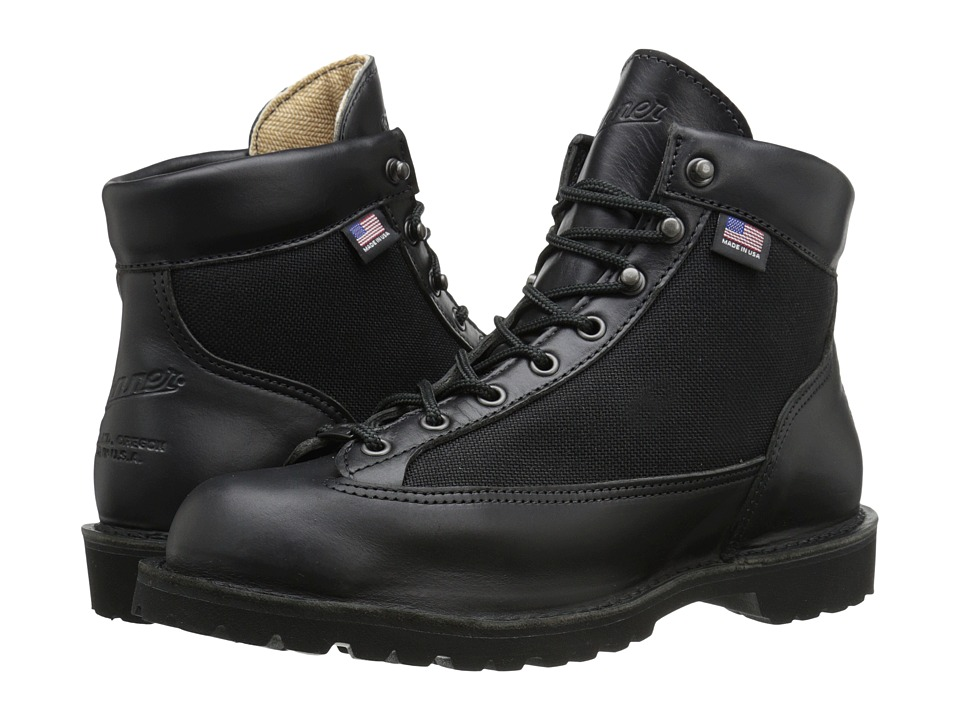 Danner - Danner Light (Black Glace) Men's Work Boots