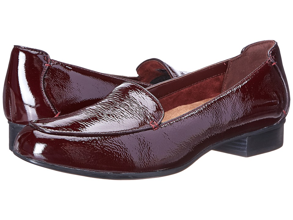Clarks - Keesha Luca (Burgundy Patent Leather) Women