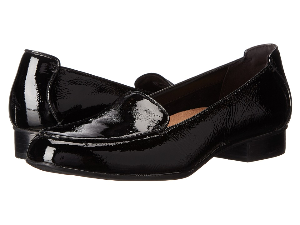 Clarks - Keesha Luca (Black Patent Leather) Women's 1-2 inch heel Shoes