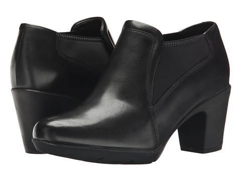 Clarks - Lucette Diva (Black Leather) High Heels