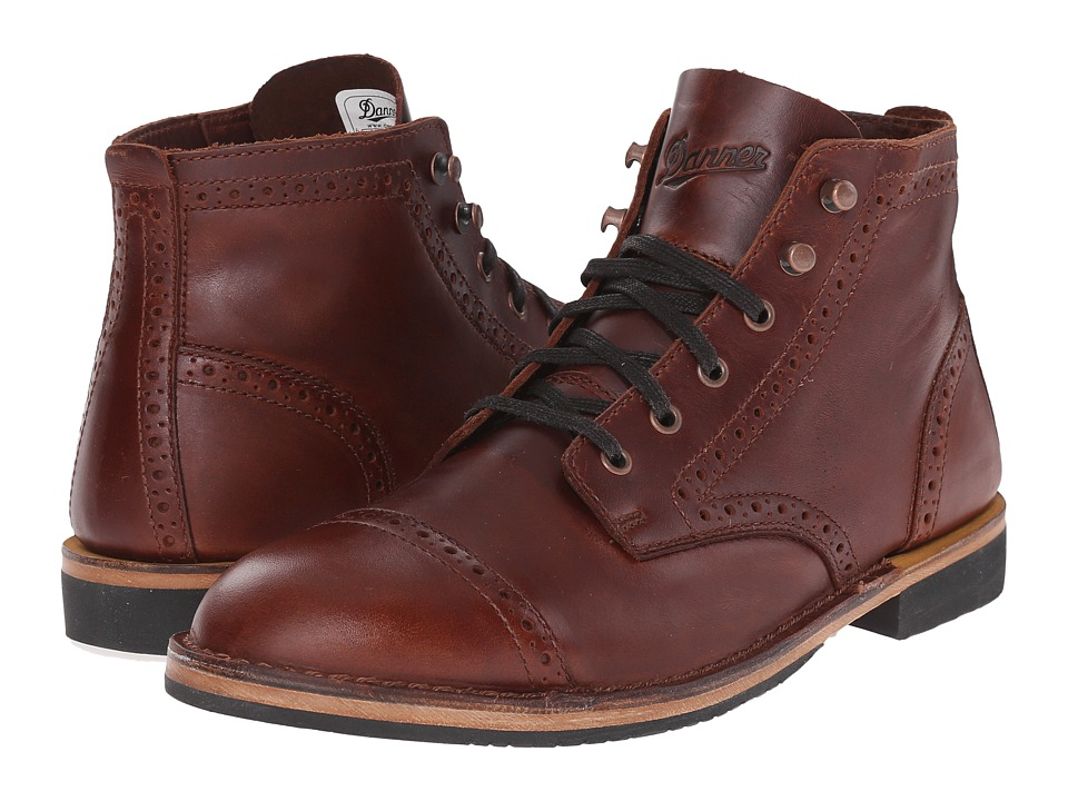 Danner - Danner Jack II (Brogue Dark Coffee) Men's Work Boots