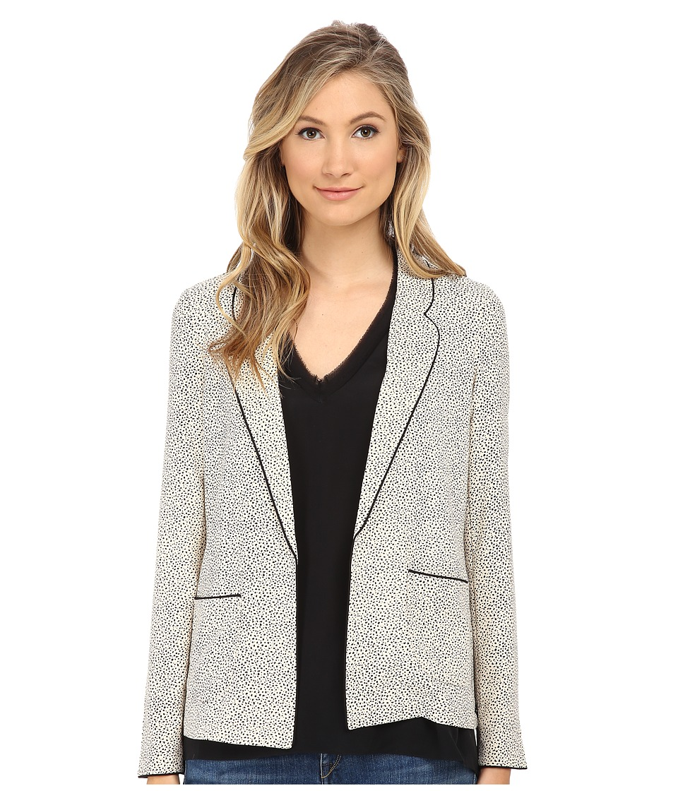 Maison Scotch - Drapey Blazer (White) Women's Jacket