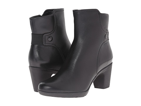 Clarks - Lucette Jewel (Black Leather) Women's Boots
