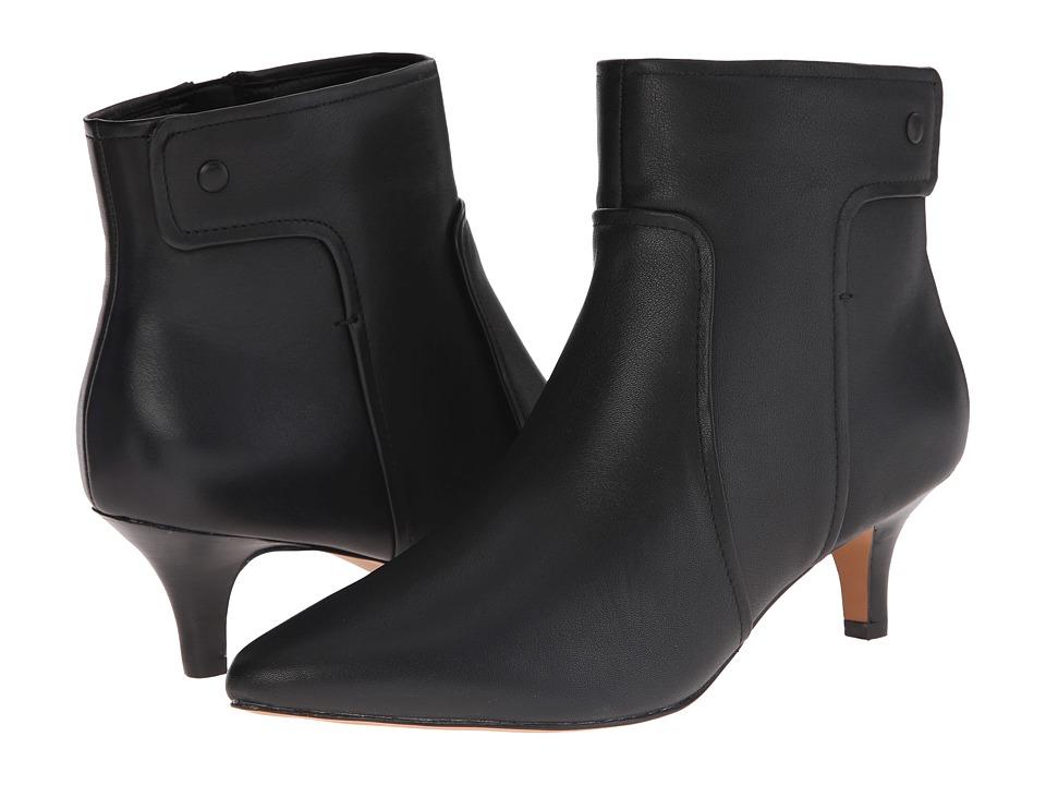 Clarks - Sage Aria (Black Leather) Women