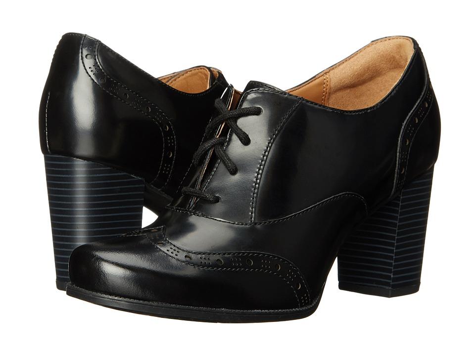 Clarks - Ciera Brine (Black Leather) Women
