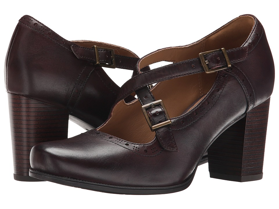 Clarks Ciera Sea (Burgundy Leather) High Heels
