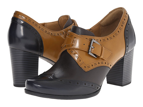 Clarks - Ciera Tide (Coganc Combination Leather) High Heels