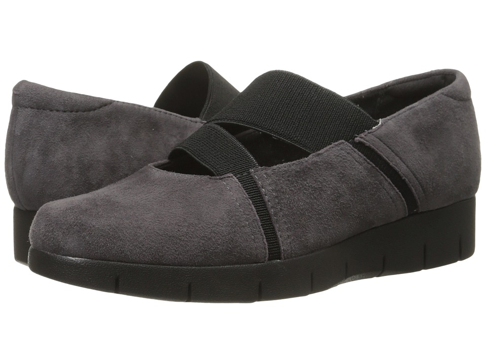 Clarks - Daelyn Villa (Purple Grey Suede) Women