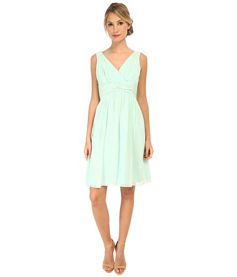 Donna Morgan - Jessie Silk Chiffon Dress (Spearmint A) Women's Dress