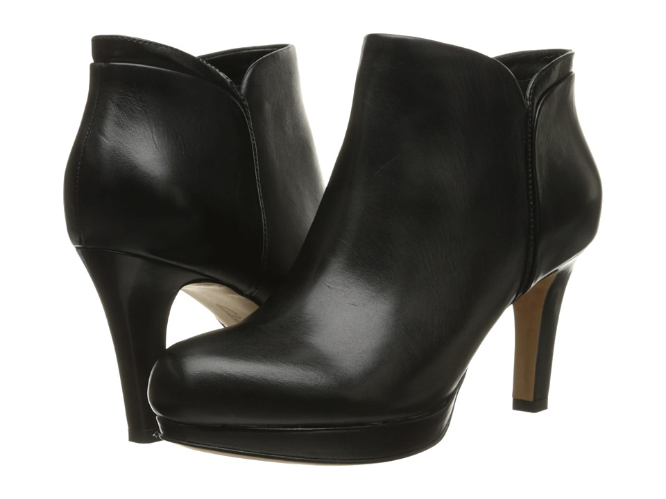 Clarks Delsie Stella (Black Leather) Women