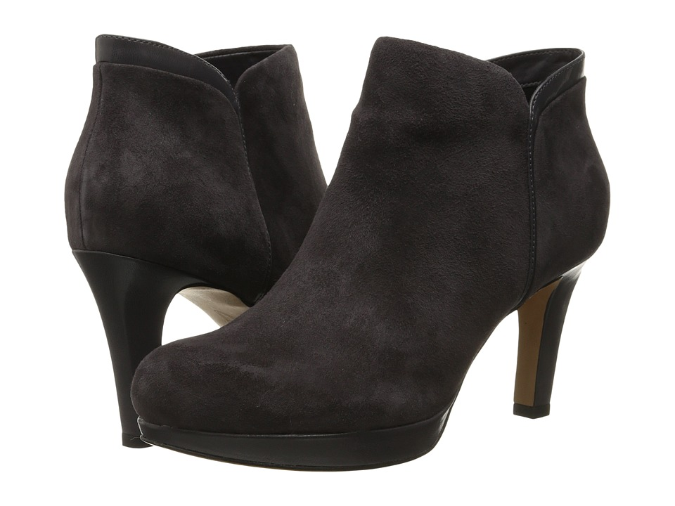 Clarks - Delsie Stella (Purple Grey Suede) Women's Boots