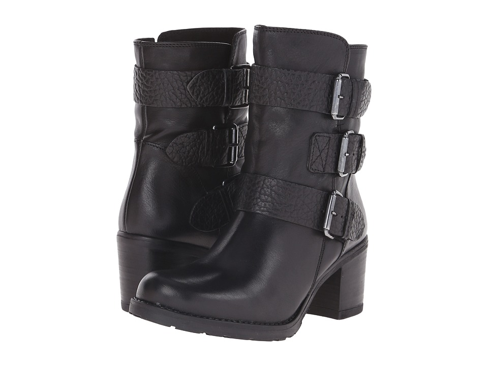 Clarks - Fernwood Lake (Black Combination Leather) Women's Boots