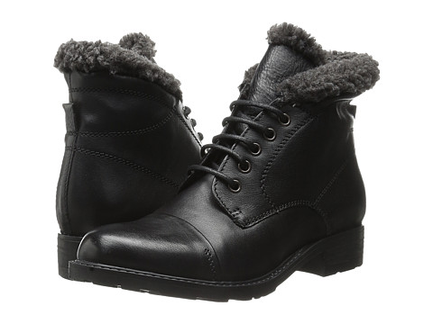 Clarks - Hayride Elm (Black Leather) Women's Boots