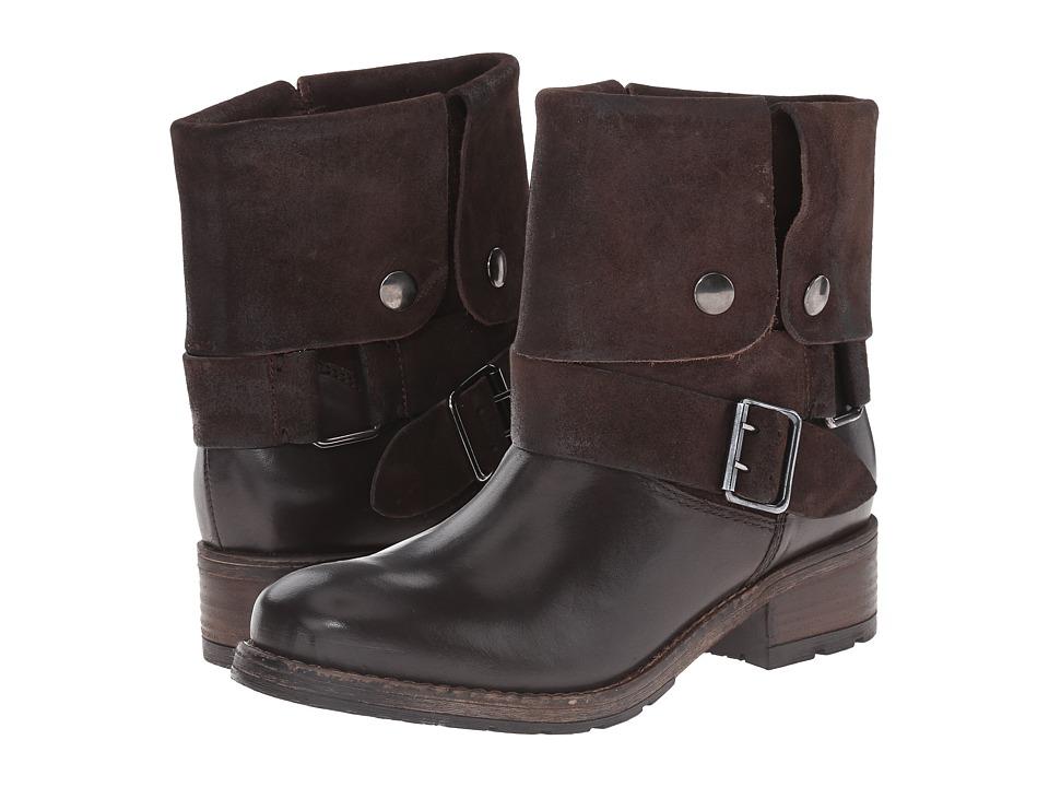 Clarks Volara Sky (Dark Brown Combination Leather) Women
