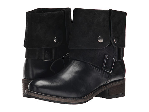 Clarks - Volara Sky (Black Combination Leather) Women's Pull-on Boots