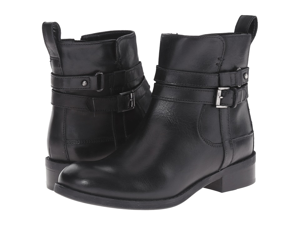 Clarks - Pita Austin (Black Leather) Women's Boots