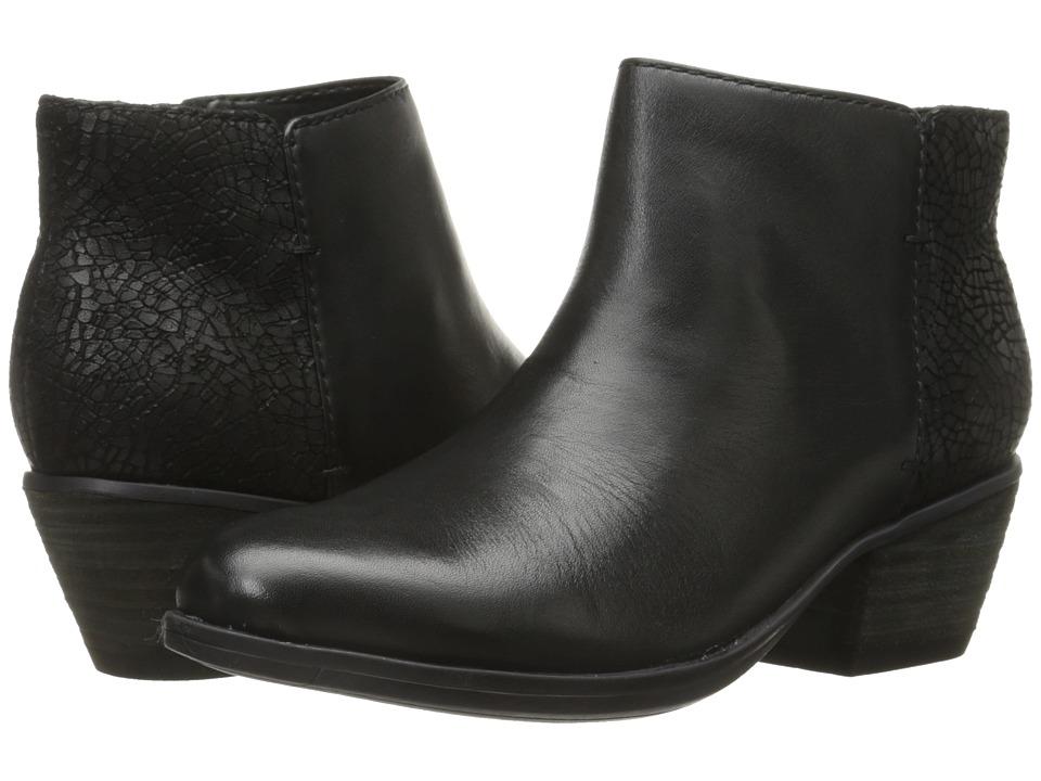 Clarks - Gelata Italia (Black Leather) Women