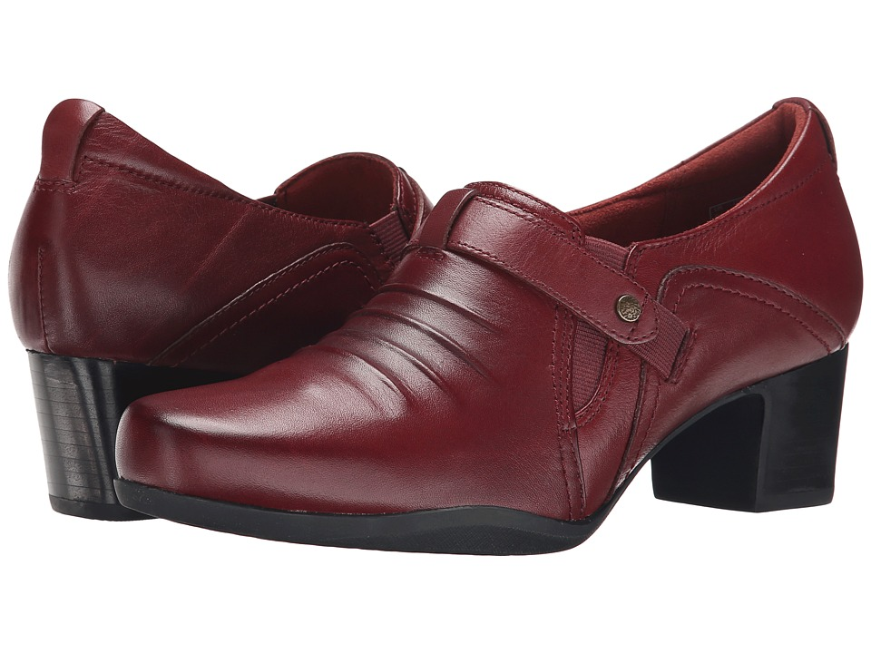 Clarks - Rosalyn Nicole (Wine Leather) Women