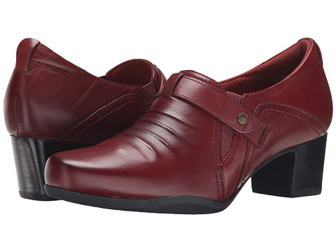 Clarks - Rosalyn Nicole (Wine Leather) Women's Shoes