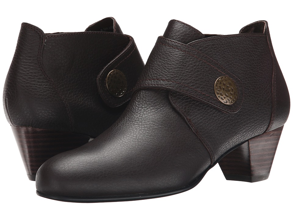 David Tate - Status (Brown Pebble Grain Leather) Women's Shoes