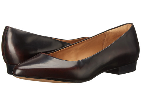 Clarks - Corabeth Abby (Burgundy Leather) Women's 1-2 inch heel Shoes