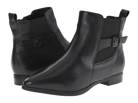 Clarks - Morela Liza (Black Leather) Women's Boots
