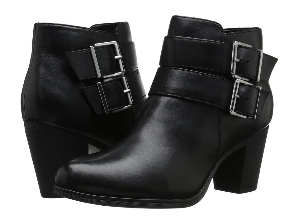 Clarks - Palma Rena (Black Leather) Women