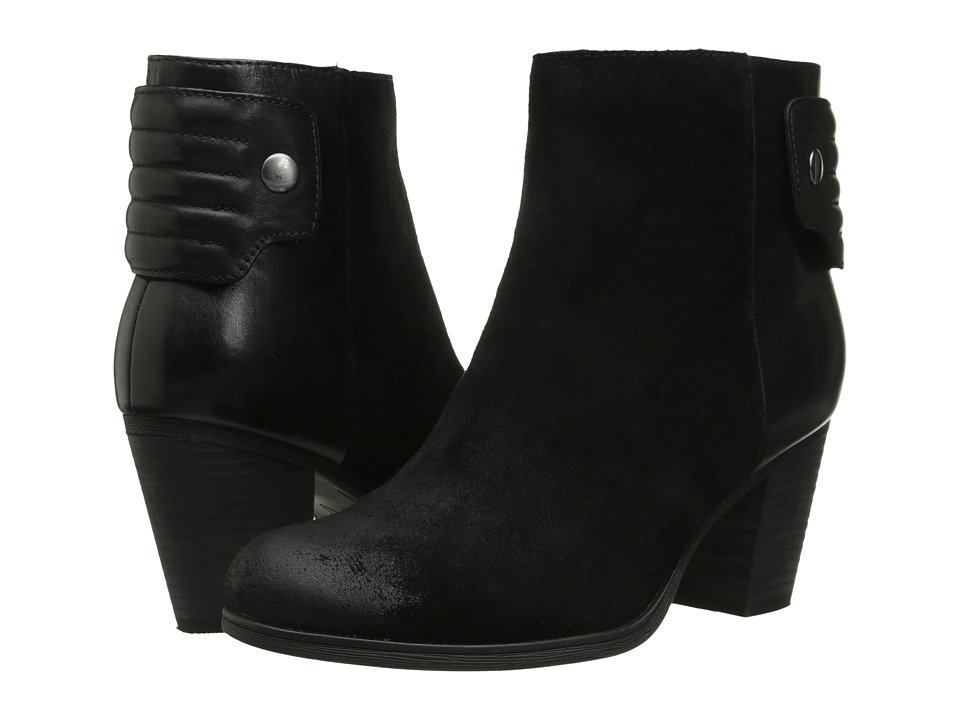 Clarks - Palma Rylie (Black Suede) Women's Boots
