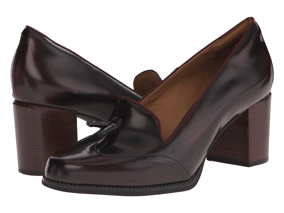 Clarks - Tarah Rosie (Burgundy Leather) High Heels