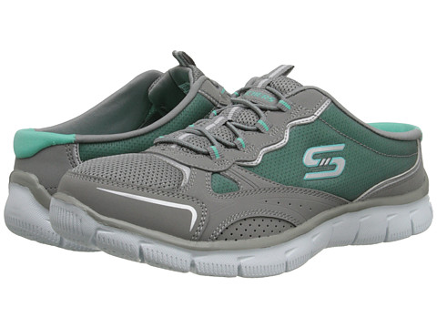 SKECHERS - Empire - The Lowdown (Grey/Green) Women