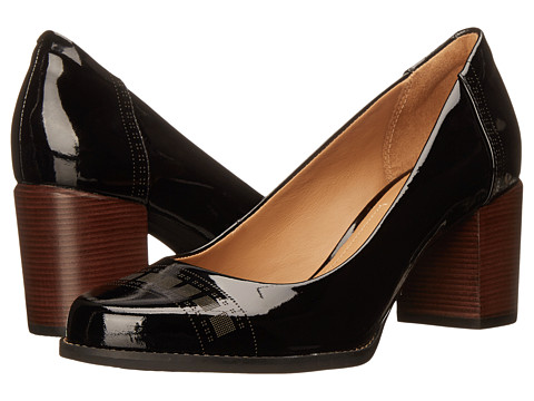Clarks - Tarah Sofia (Black Patent Leather) High Heels