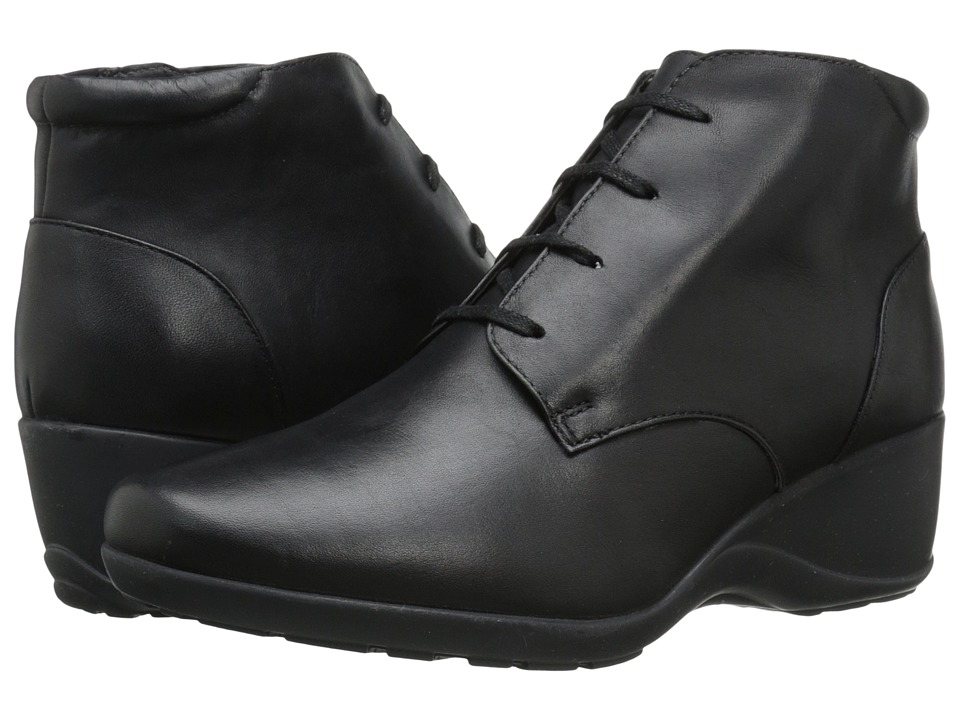 Clarks - Allura Astra (Black Leather) Women's Boots