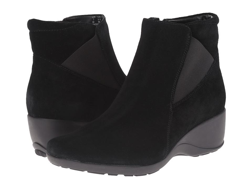 Clarks - Allura Mystic (Black Suede) Women's Boots
