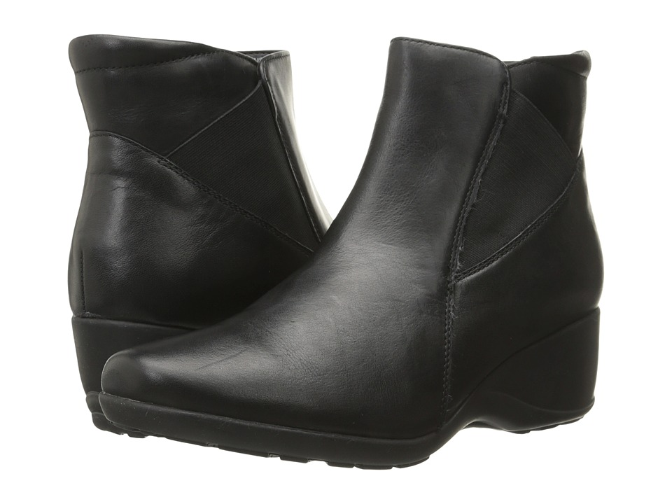 Clarks - Allura Mystic (Black Leather) Women's Boots