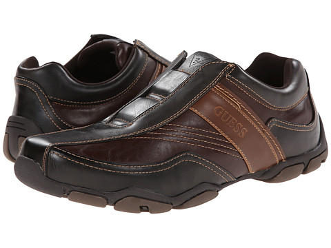 GUESS - Sanders (Brown Multi Leather) Men's Shoes