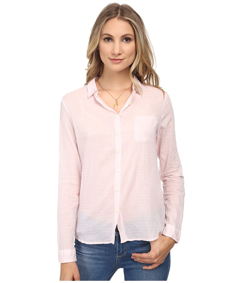 Maison Scotch - Relaxed Fit Longer Length Shirt in Seersucker Fabric (Pink) Women