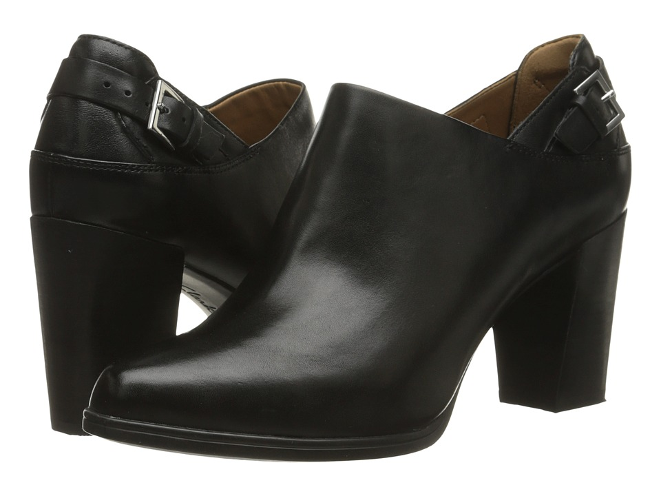 Clarks - Kadri Dylan (Black Leather) High Heels
