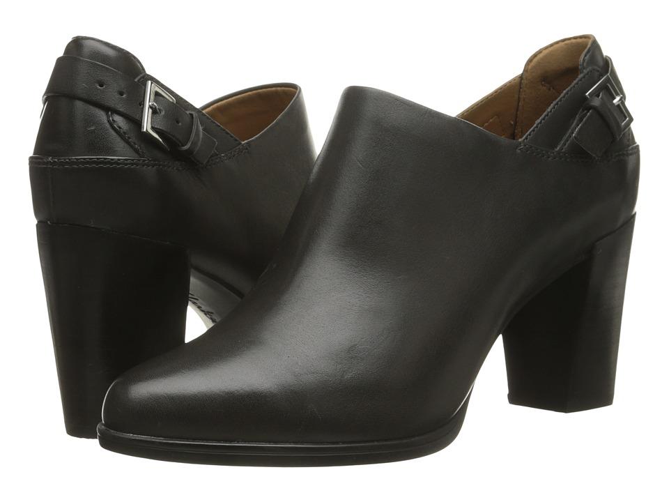 Clarks - Kadri Dylan (Dark Grey Leather) High Heels