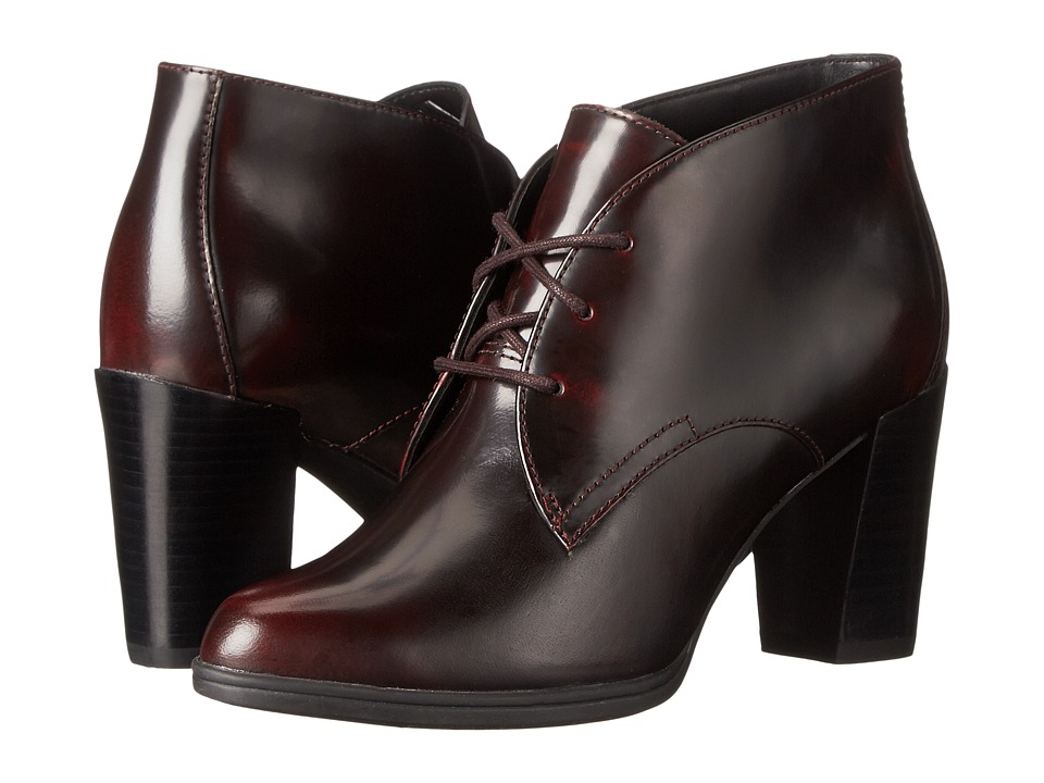 Clarks - Kadri Alexa (Burgundy Leather) Women's Boots