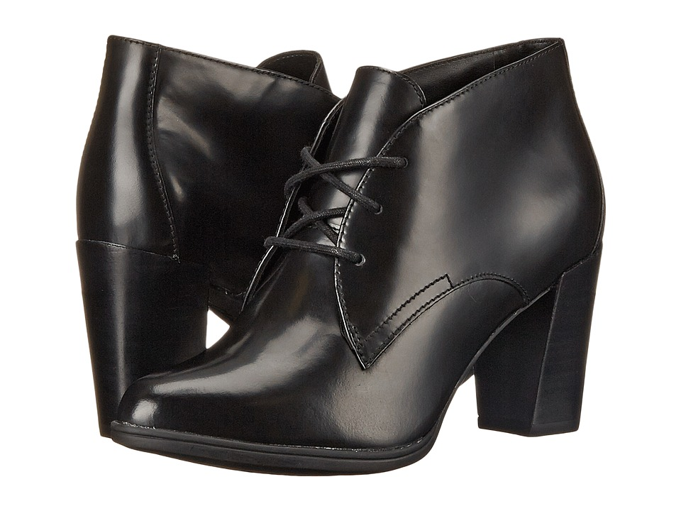 Clarks - Kadri Alexa (Black Leather) Women's Boots