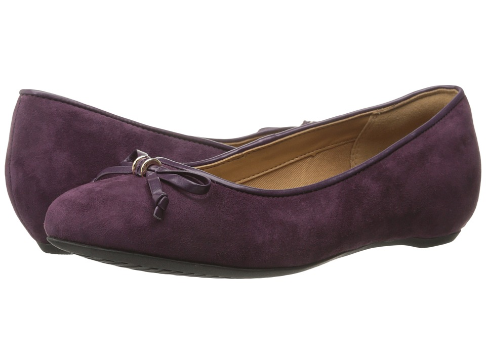 Clarks - Alitay Giana (Purple Suede) Women