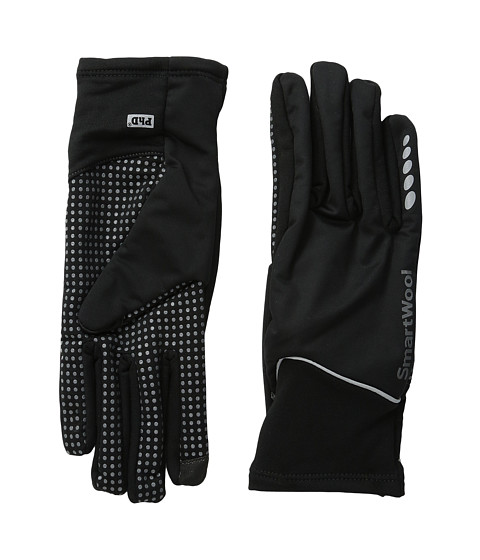 Smartwool - PhD HyFi Wind Training Glove (Black) Extreme Cold Weather Gloves
