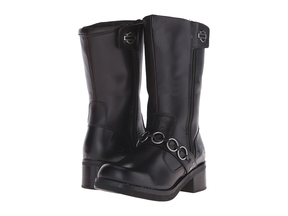 Harley-Davidson - Helen (Black) Women's Pull-on Boots