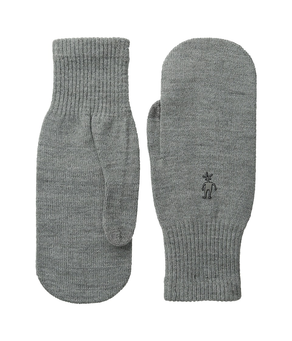 Smartwool Knit Mitt (Silver Grey Heather) Over-Mits Gloves