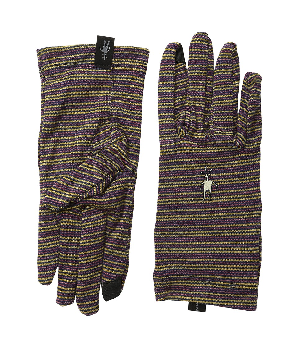 Smartwool - NTS Mid 250 Pattern Glove (Sunglow Heather) Liner Gloves