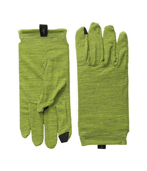 Smartwool - NTS Mic 150 Pattern Glove (Smartwool Green) Liner Gloves