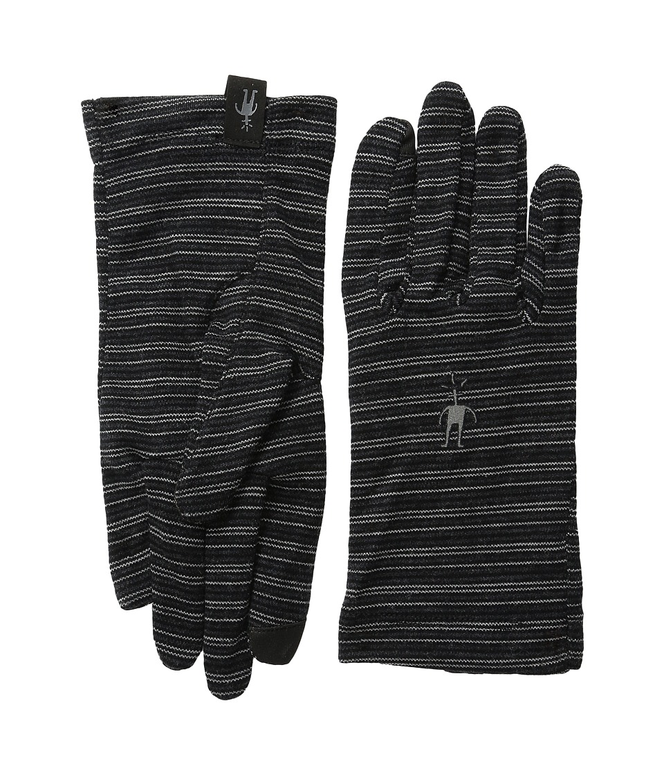 Smartwool - NTS Mid 250 Pattern Glove (Charcoal Heather/Black) Liner Gloves