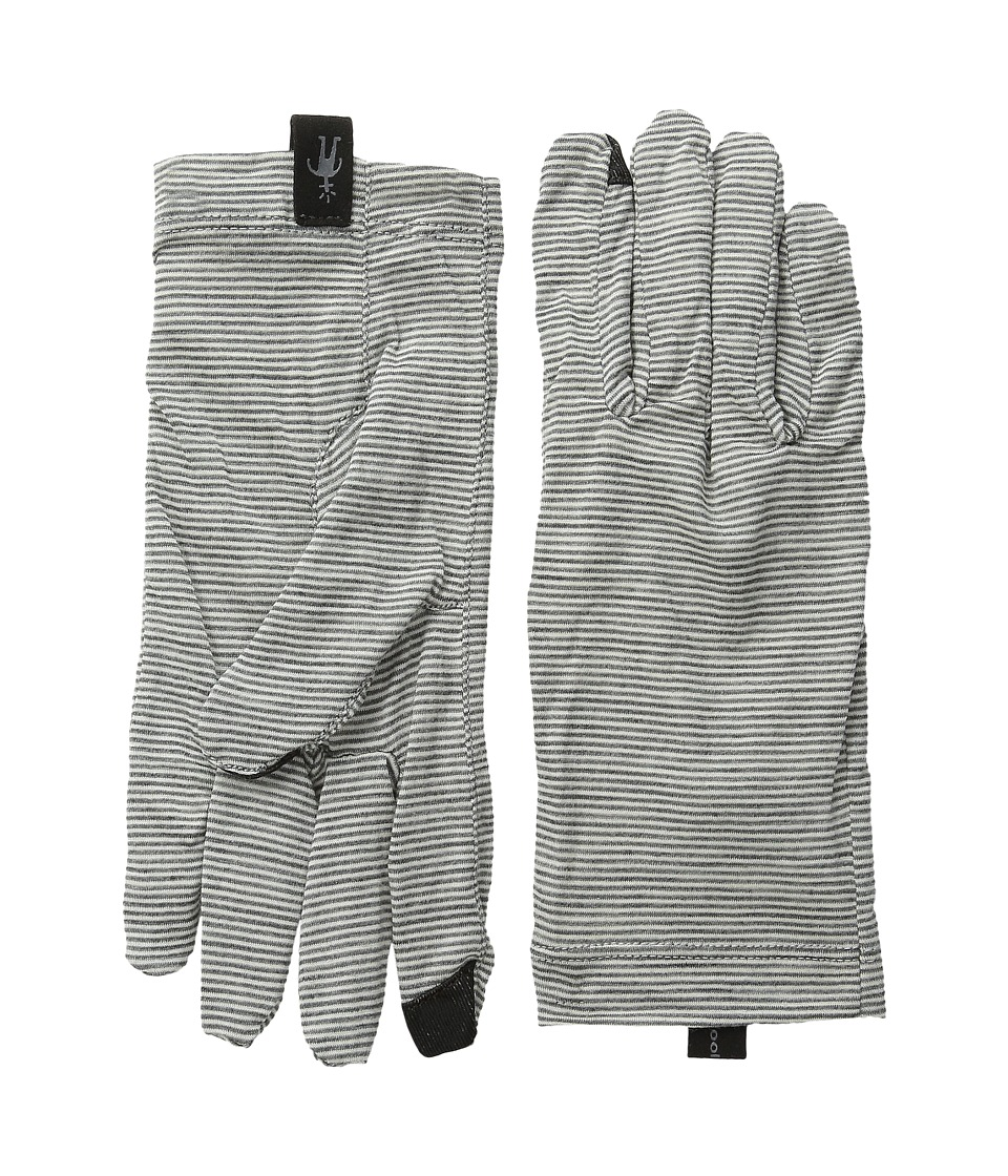 Smartwool - NTS Mic 150 Pattern Glove (Silver Grey Heather) Liner Gloves