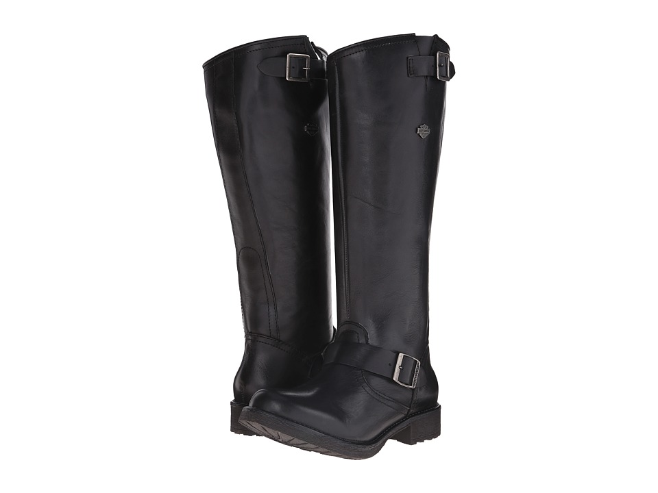 Harley-Davidson - Cadena (Black) Women's Pull-on Boots